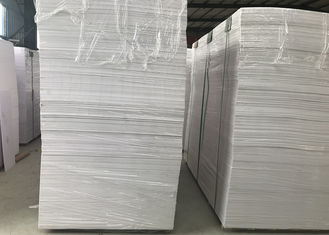 China High Strength White Pvc Display Board , Flame Resistant Foam Board Smooth Surface supplier